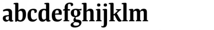 Tanger Serif Narrow SemiBold Font LOWERCASE