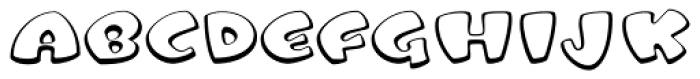 Tangerine Open Font UPPERCASE