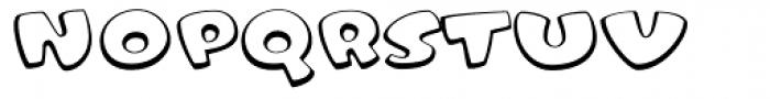 Tangerine Open Font LOWERCASE