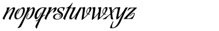 Tanguera Font LOWERCASE