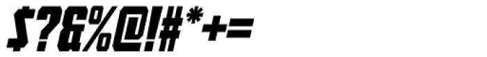 Tank Lite Italic Font OTHER CHARS