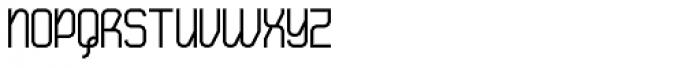 Tanqueray Regular Font UPPERCASE