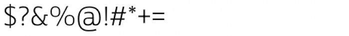 Tanseek Modern Pro Light Font OTHER CHARS