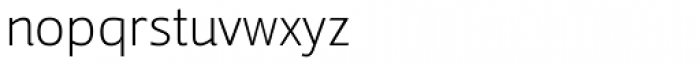 Tanseek Modern Pro Light Font LOWERCASE
