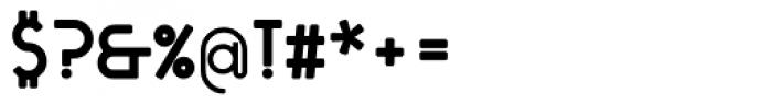 Tantalus Alternative Bold Font OTHER CHARS