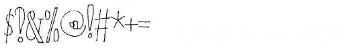 Tantamount Regular Font OTHER CHARS
