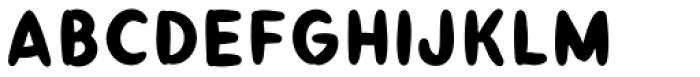 Taos Fill Font UPPERCASE