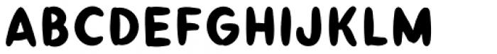 Taos Fill Font LOWERCASE