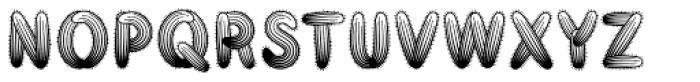 Taos Outline Font UPPERCASE