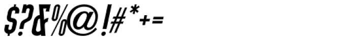 Tap Water Oblique JNL Font OTHER CHARS