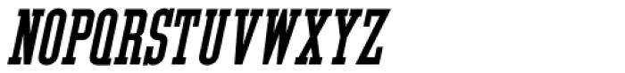 Tap Water Oblique JNL Font UPPERCASE