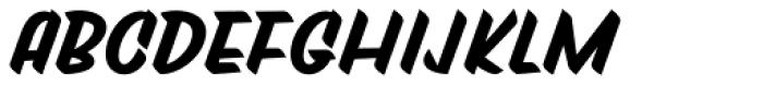 Tapas Signpainting Black Font UPPERCASE