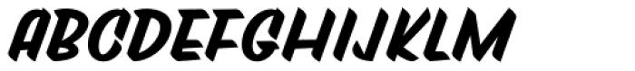 Tapas Signpainting Black Font LOWERCASE