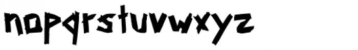 Tapemate Regular Font LOWERCASE