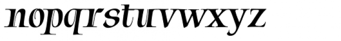 Tapestry Font LOWERCASE