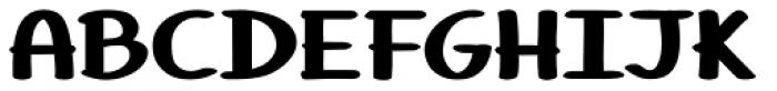 Tara Font UPPERCASE