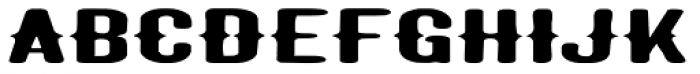 Taranatiritiza Extended Font UPPERCASE
