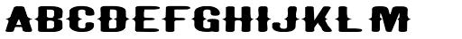 Taranatiritiza Extended Font LOWERCASE
