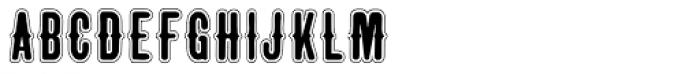 Taranatiritiza Lined Font UPPERCASE
