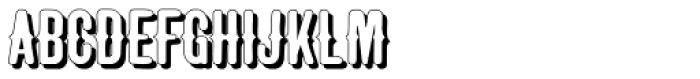 Taranatiritiza Shadow Font UPPERCASE