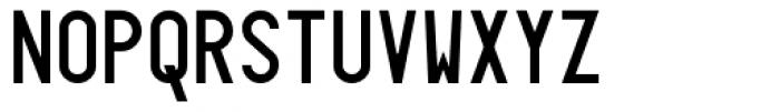 Targa MS Font UPPERCASE