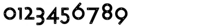 Target Bolt Font OTHER CHARS