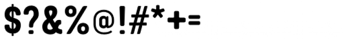 Targo 4F Font OTHER CHARS