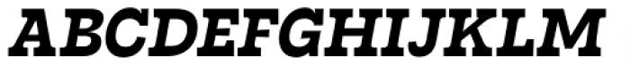 Tarif Bold Italic Font UPPERCASE