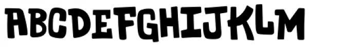 Tarnation Font UPPERCASE