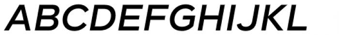 Taro Semi Bold Italic Font UPPERCASE