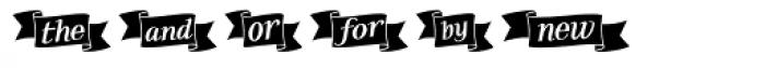 Taroca Extras Font UPPERCASE