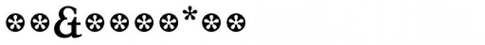 Tarocco Extras OT Bold Font OTHER CHARS