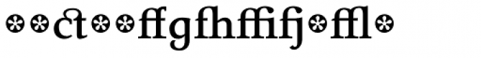 Tarocco Extras OT Bold Font LOWERCASE