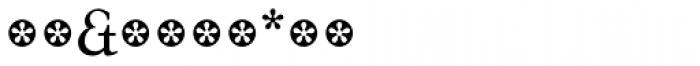 Tarocco Extras OT Roman Font OTHER CHARS