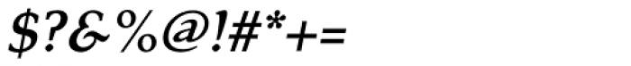 Tarocco OSFOT Bold Italic Font OTHER CHARS