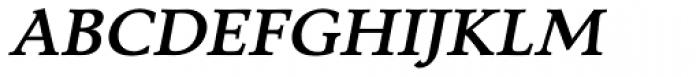 Tarocco OSFOT Bold Italic Font UPPERCASE