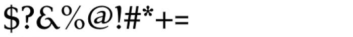 Tarocco OSFOT Medium Font OTHER CHARS