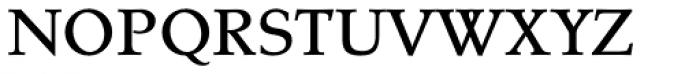 Tarocco OSFOT Medium Font UPPERCASE