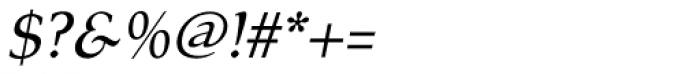 Tarocco OT Italic Font OTHER CHARS