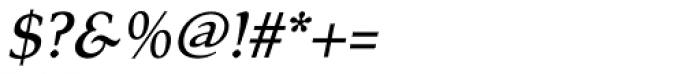 Tarocco OT Medium Italic Font OTHER CHARS