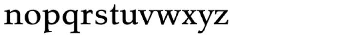 Tarocco OT Medium Font LOWERCASE