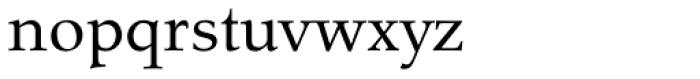 Tarocco OT Roman Font LOWERCASE