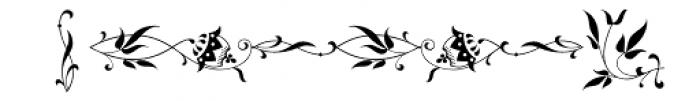 Tarotee One Regular Font LOWERCASE