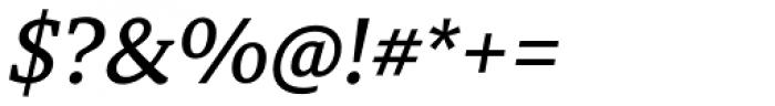 Tarsus Medium Italic Font OTHER CHARS