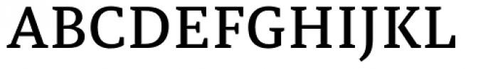 Tarsus Medium Font UPPERCASE