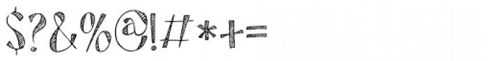 Tartufo Regular Font OTHER CHARS
