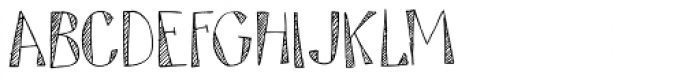 Tartufo Regular Font LOWERCASE