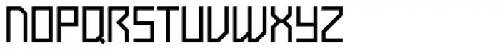 Tasci Kufi Light Extended Font UPPERCASE