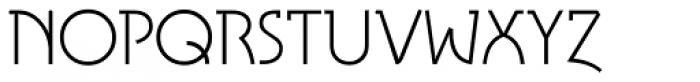 Tasci Serif UltraLight Font UPPERCASE