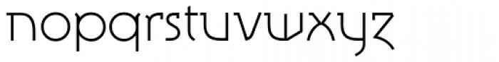 Tasci Serif UltraLight Font LOWERCASE